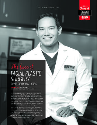 facial plastic surgeon accreditation in denver