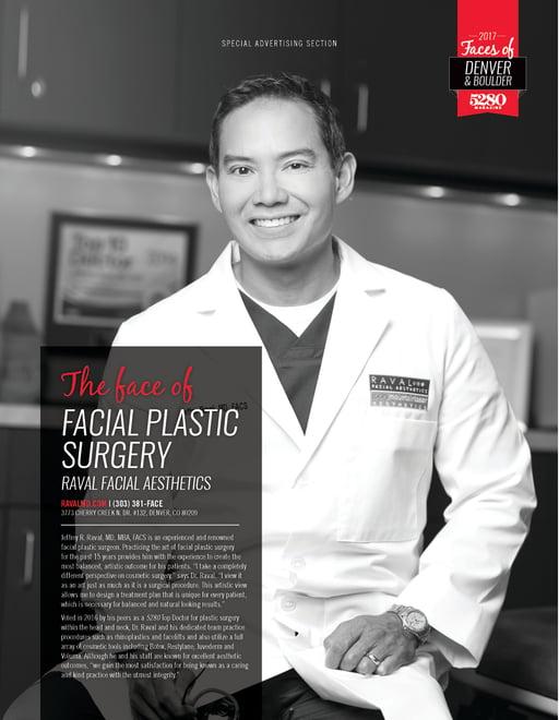 facial plastic surgeon accreditation in denver