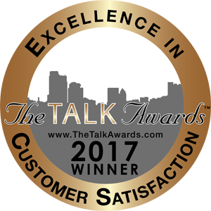 5-Star Customer Satisfaction Rating The Talk Awards