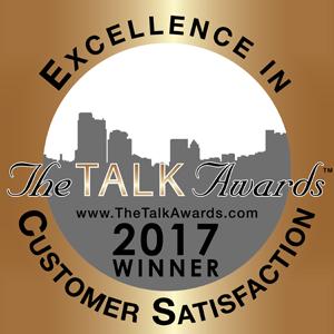 5-Star Customer Satisfaction Rating The Talk Awards