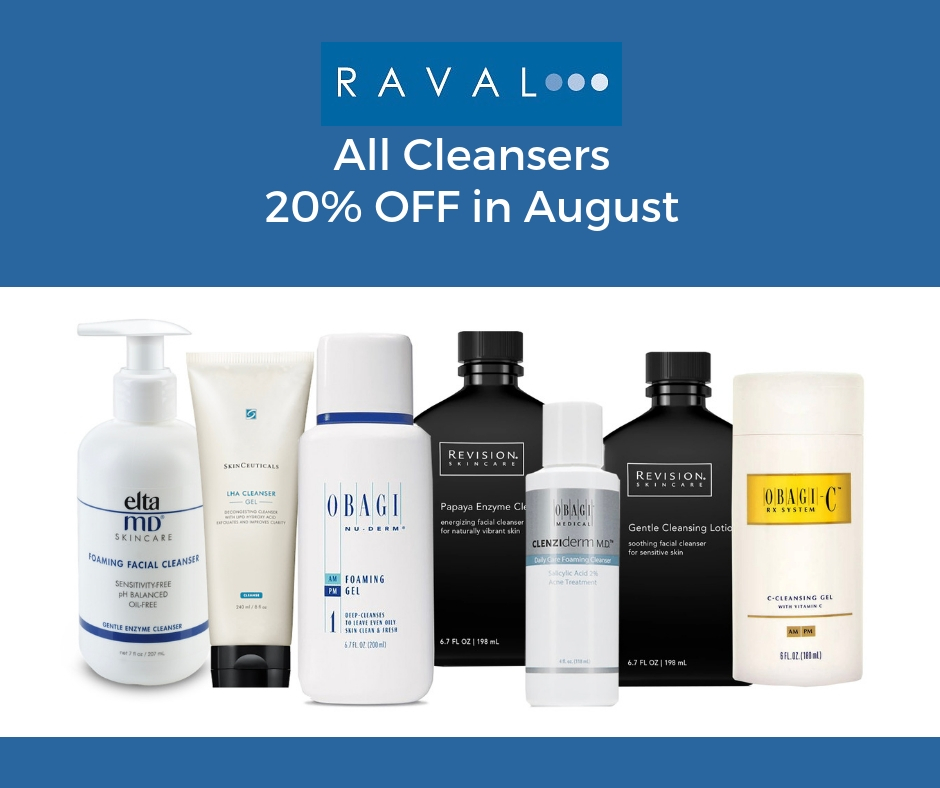 August all cleansers